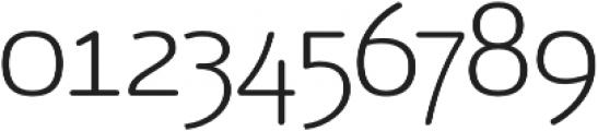 Vulgat Light otf (300) Font OTHER CHARS