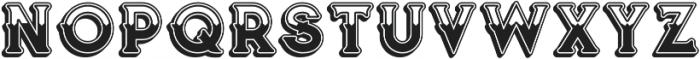 Vultron Bold otf (700) Font UPPERCASE