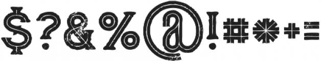 Vultron line grunge otf (400) Font OTHER CHARS