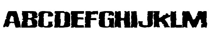 Vulgar Display Of Power Font UPPERCASE