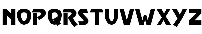 Vulgar Display Regular Font UPPERCASE