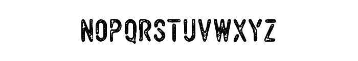Vulturemotor Demo Font LOWERCASE