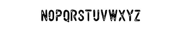 VulturemotorDemo Font LOWERCASE