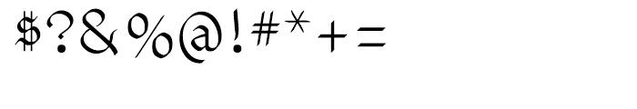 Vunder Script Regular Font OTHER CHARS