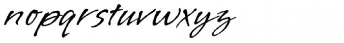 Vujahday Script ROB Font LOWERCASE