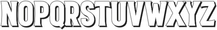VVD Golden Horn Shadow otf (400) Font UPPERCASE