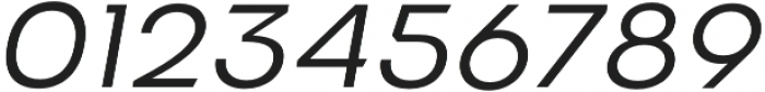 VVDS Benigne Sans ExtraLightItalic otf (200) Font OTHER CHARS