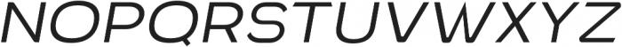 VVDS Benigne Sans ExtraLightItalic otf (200) Font UPPERCASE