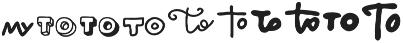VVDS_Bimbo Catchwords One otf (400) Font OTHER CHARS