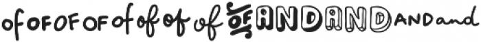 VVDS_Bimbo Catchwords One otf (400) Font UPPERCASE