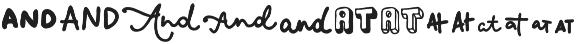 VVDS_Bimbo Catchwords One otf (400) Font LOWERCASE