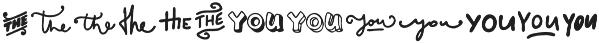 VVDS_Bimbo Catchwords Two otf (400) Font UPPERCASE