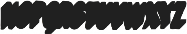 VVDS_Bimbo Condensed Shadow Two otf (400) Font UPPERCASE