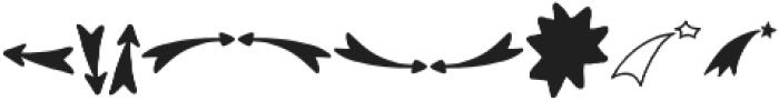 VVDS_Bimbo Decor Three otf (400) Font OTHER CHARS