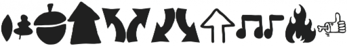 VVDS_Bimbo Decor Three otf (400) Font LOWERCASE