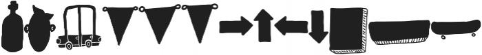 VVDS_Bimbo Decor Two otf (400) Font UPPERCASE
