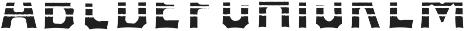 VVDS_Bimbo Sans Decor 1 otf (400) Font UPPERCASE