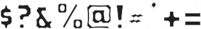VVDS_Bimbo Sans Fill otf (400) Font OTHER CHARS