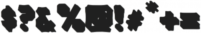 VVDS_Bimbo Sans Shadow 1 otf (400) Font OTHER CHARS