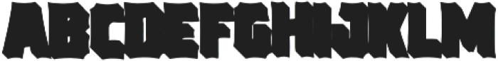 VVDS_Bimbo Sans Shadow 1 otf (400) Font UPPERCASE