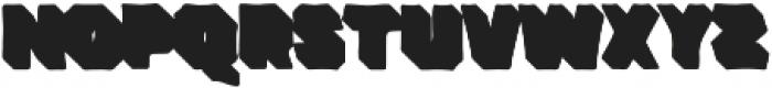 VVDS_Bimbo Sans Shadow 1 otf (400) Font LOWERCASE