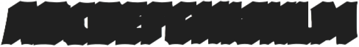 VVDS_Bimbo Sans Shadow 2 otf (400) Font UPPERCASE