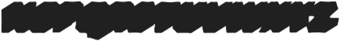 VVDS_Bimbo Sans Shadow 2 otf (400) Font LOWERCASE