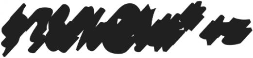 VVDS_Bimbo Script Shadow 2 otf (400) Font OTHER CHARS