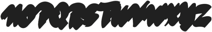 VVDS_Bimbo Script Shadow 2 otf (400) Font UPPERCASE