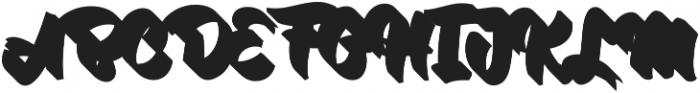VVDS_Bimbo Script Shadow otf (400) Font UPPERCASE