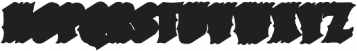 VVDS_Bimbo Serif Shadow 2 otf (400) Font UPPERCASE