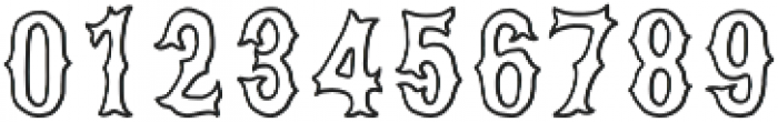 VVDS_Bimbo Serif Stroke otf (400) Font OTHER CHARS