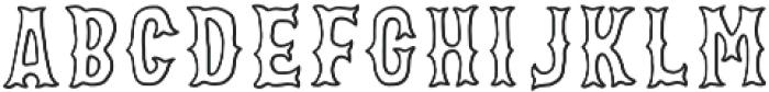 VVDS_Bimbo Serif Stroke otf (400) Font UPPERCASE