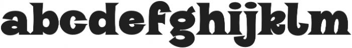 VVDS_Halau_Serif Bold otf (700) Font LOWERCASE