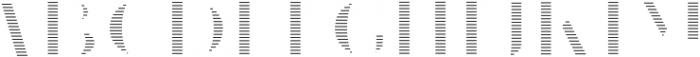 VVDS_Le Bonjour Bold Offset Line otf (700) Font UPPERCASE