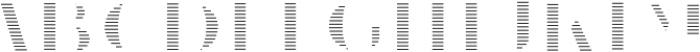 VVDS_Le Bonjour Bold Offset Line otf (700) Font LOWERCASE