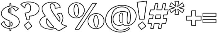 VVDS_Le Bonjour Bold Stroke otf (700) Font OTHER CHARS