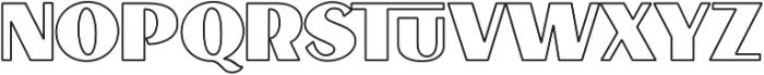 VVDS_Le Bonjour Bold Stroke otf (700) Font LOWERCASE