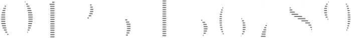 VVDS_Le Bonjour Regular Offset Line otf (400) Font OTHER CHARS