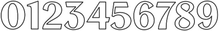 VVDS_Le Bonjour Regular Stroke otf (400) Font OTHER CHARS