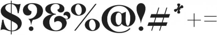 VVDS_Organum Bold otf (700) Font OTHER CHARS