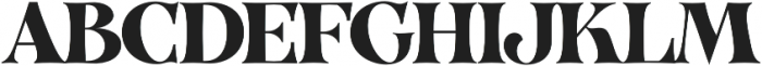 VVDS_Organum Bold otf (700) Font UPPERCASE