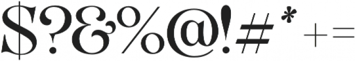 VVDS_Organum Light otf (300) Font OTHER CHARS