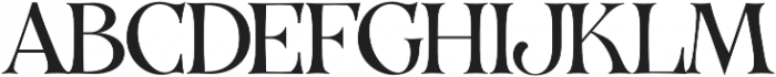 VVDS_Organum Light otf (300) Font UPPERCASE