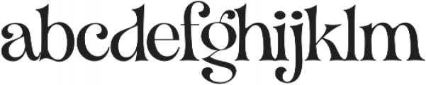 VVDS_Organum Light otf (300) Font LOWERCASE