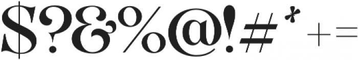 VVDS_Organum Normal otf (400) Font OTHER CHARS