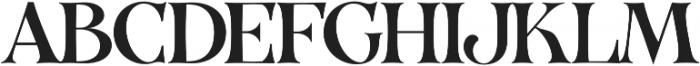 VVDS_Organum Normal otf (400) Font UPPERCASE