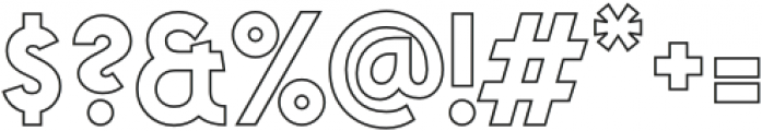VVDS_Praliner Bold Stroke otf (700) Font OTHER CHARS