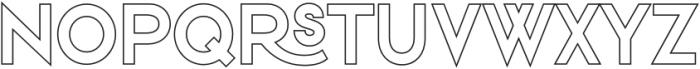 VVDS_Praliner Bold Stroke otf (700) Font UPPERCASE