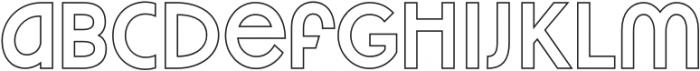 VVDS_Praliner Bold Stroke otf (700) Font LOWERCASE